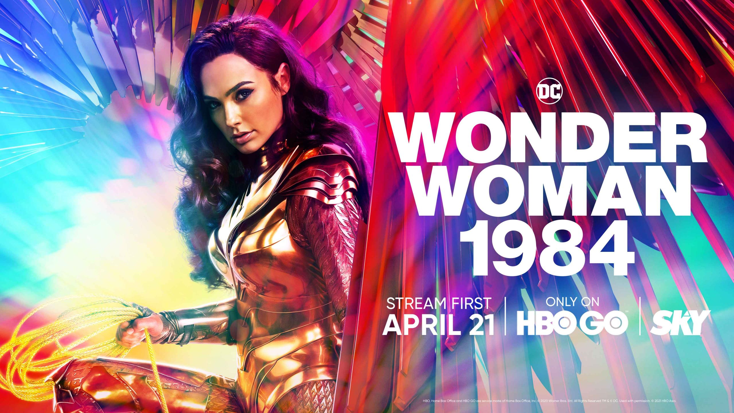 ICYMI: 'Wonder Woman 1984' Starts Streaming on HBO GO This April 21!