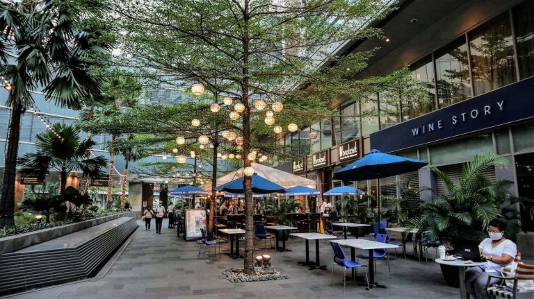 Streetscape at the Shangri-La Plaza 3