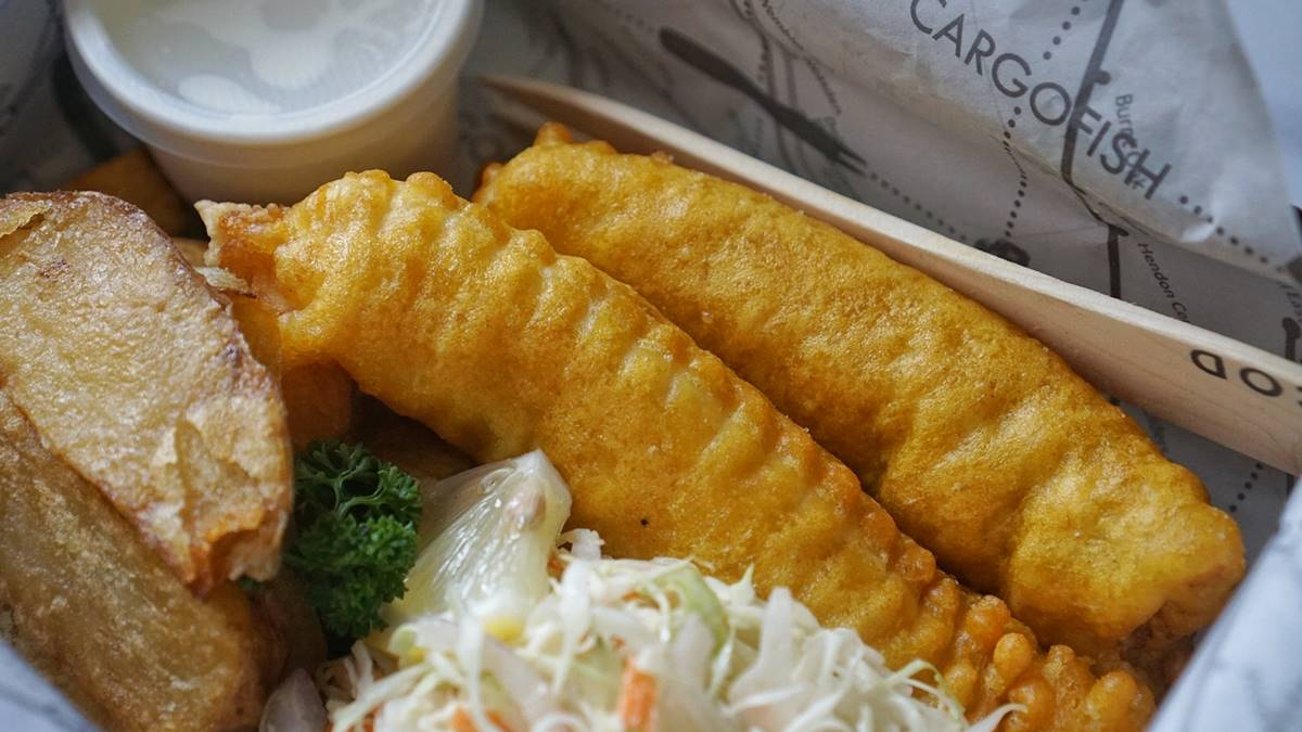 Cargo Fish in BGC Offers Brit-Style Fish & Chips in Metro Manila
