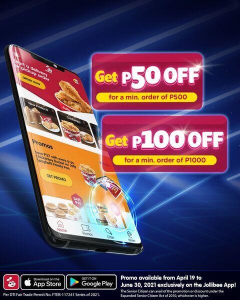 Jollibee App promo