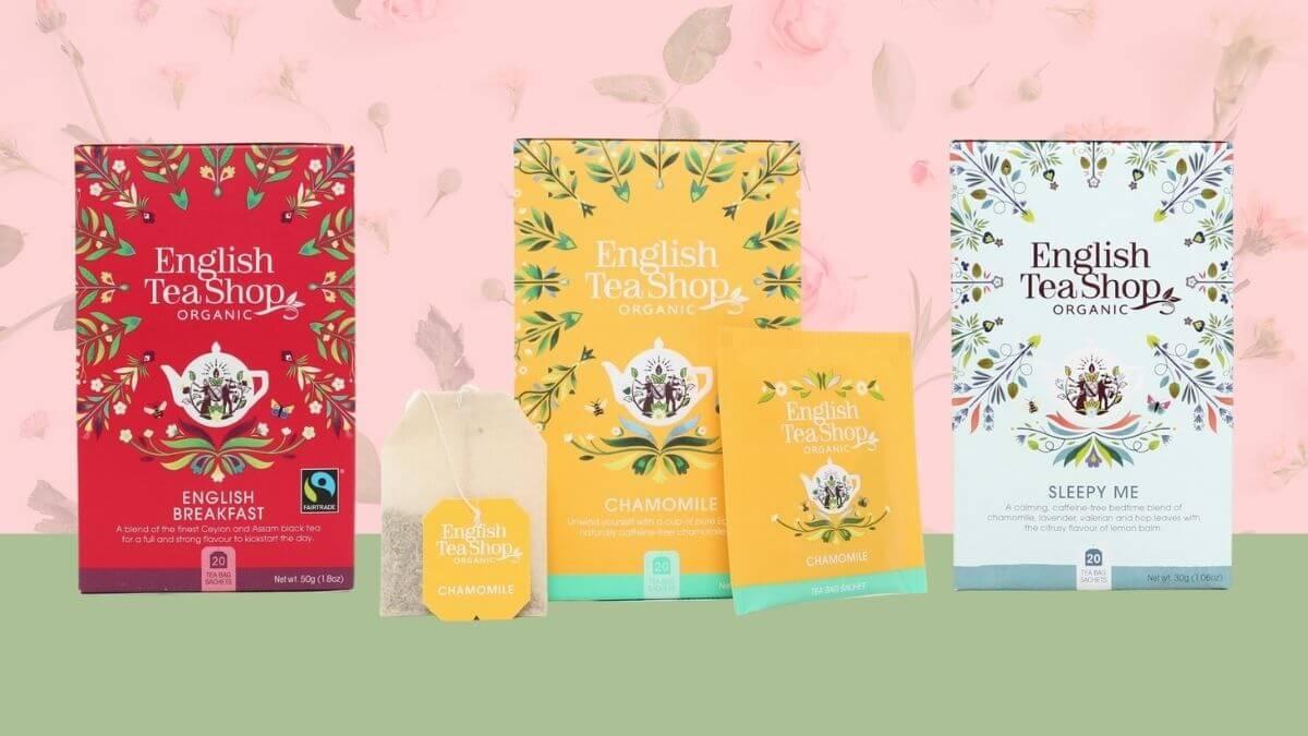 English Tea Shop's New Look Highlights Their Lively New Mandala