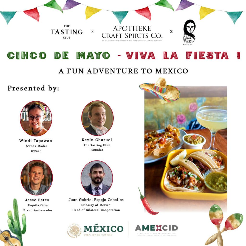 The Embassy of Mexico in the Philippines Announces Virtual 'Cinco de Mayo' Celebration