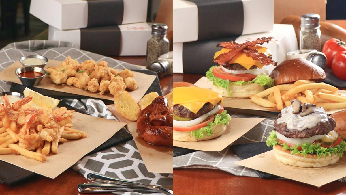 Check Out TGIFridays' Exclusive Delivery Menu