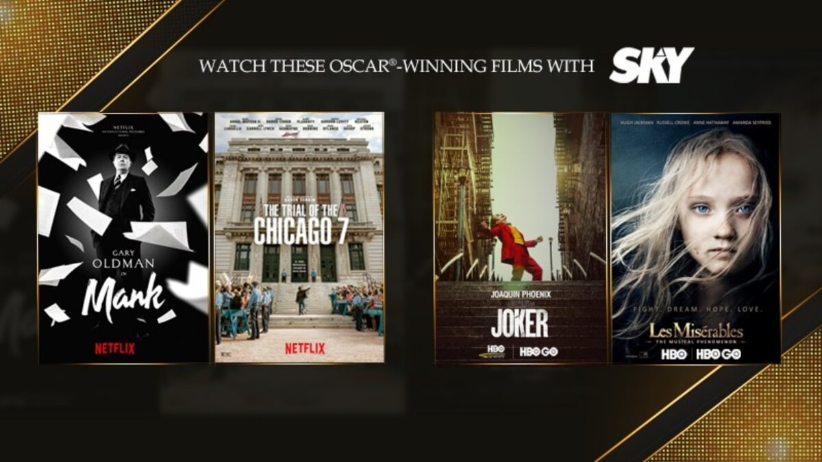 Watch Oscar-Winning and Nominated Films on SKY