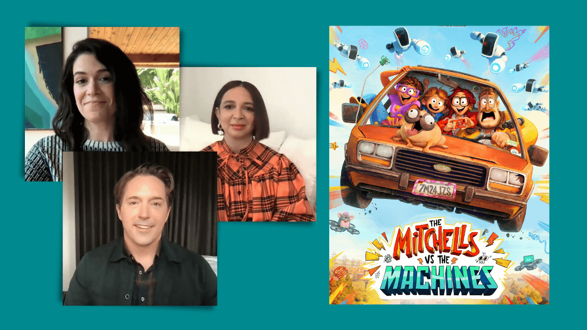 Q&A: Abbi Jacobson, Maya Rudolph, and Beck Bennett on 'The Mitchells vs. The Machines'