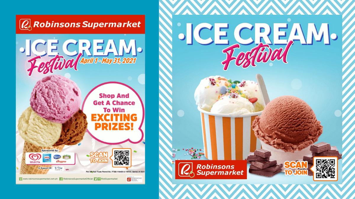 Robinsons Supermarket Celebrates Ice Cream Festival 2021