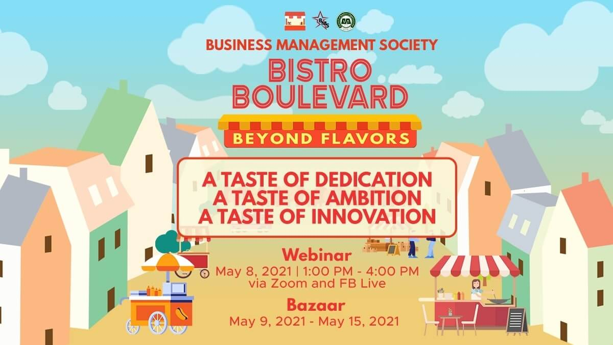 DLSU-BMS Launches Online Food Bazaar and Fundraising Event 'Bistro Boulevard: Beyond Flavors'