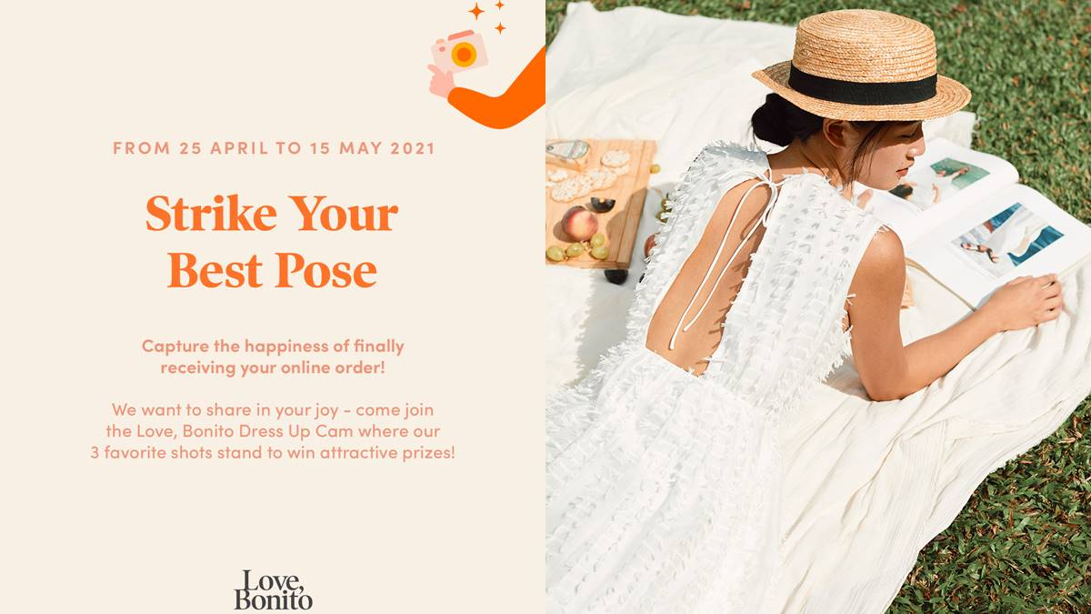 Got your Love, Bonito delivery? Strike A Pose and Win A US$100 Gift Card