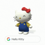 Google AR -- Hello Kitty