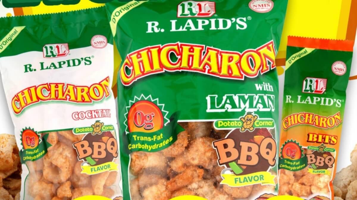 LOOK: Potato Corner & R. Lapid's are Now Offering Flavored Chicharon!