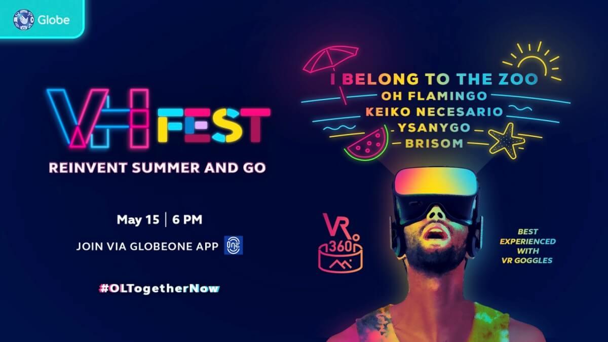 Globe Virtual Hangouts Celebrates Reinvention Through Music via 'VH Fest'