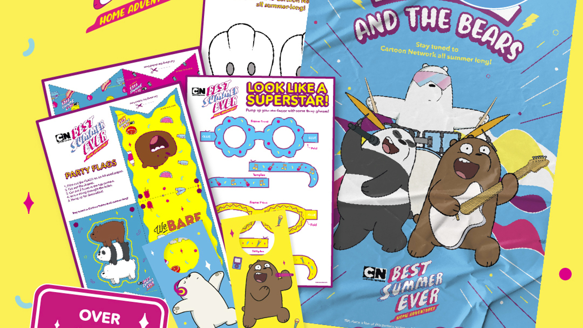 Have a Family Fun Time with Cartoon Network This Summer