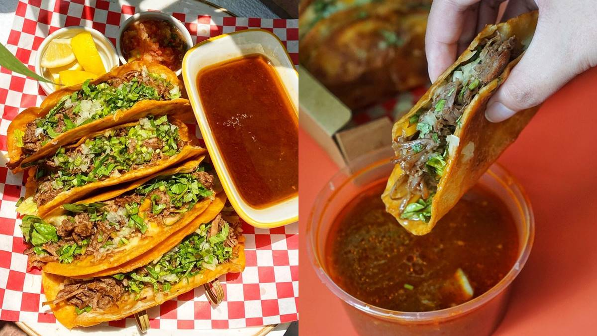 Here's Where You Can Get Premium Beef Birria Tacos in Manila