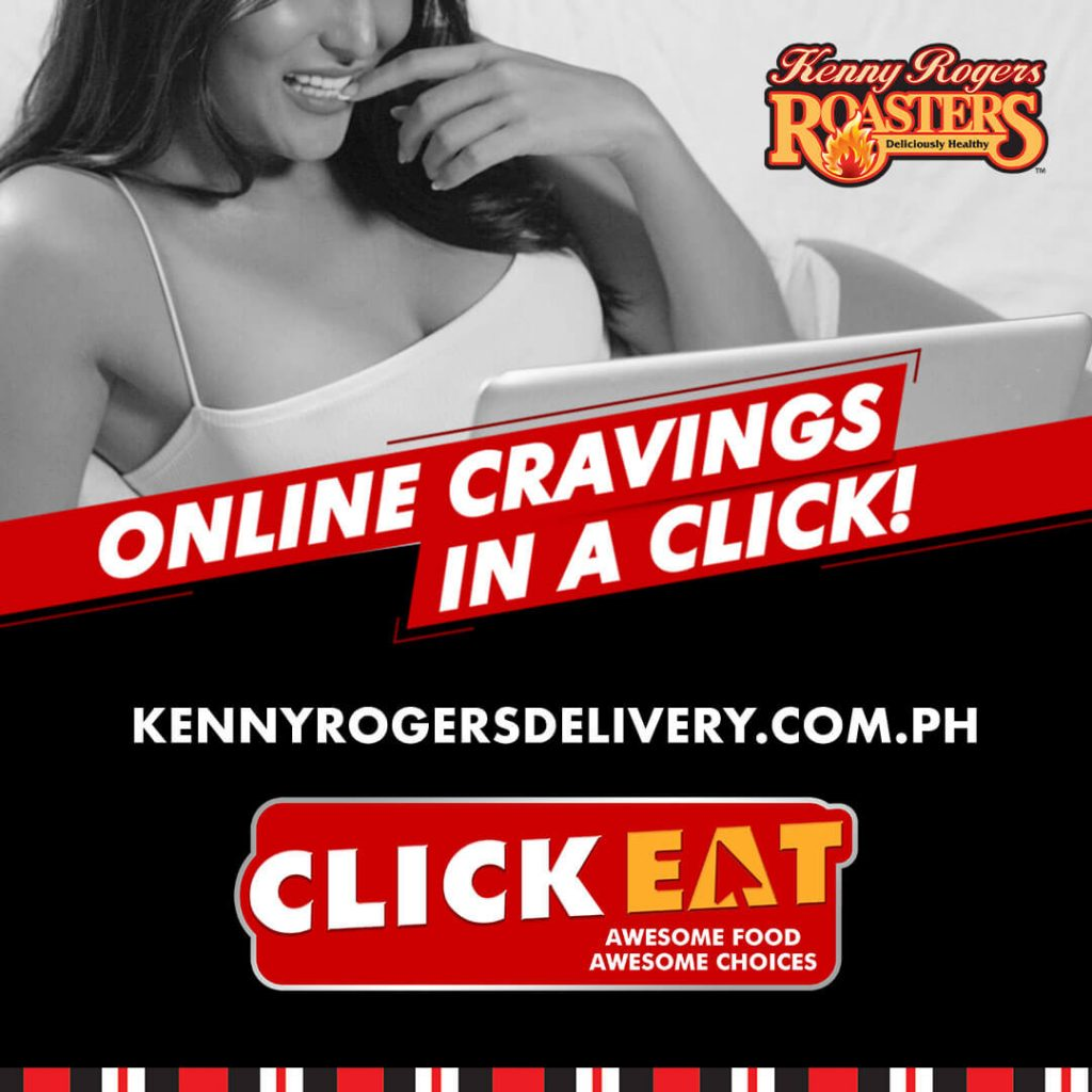 Kenny Rogers Roasters online delivery website