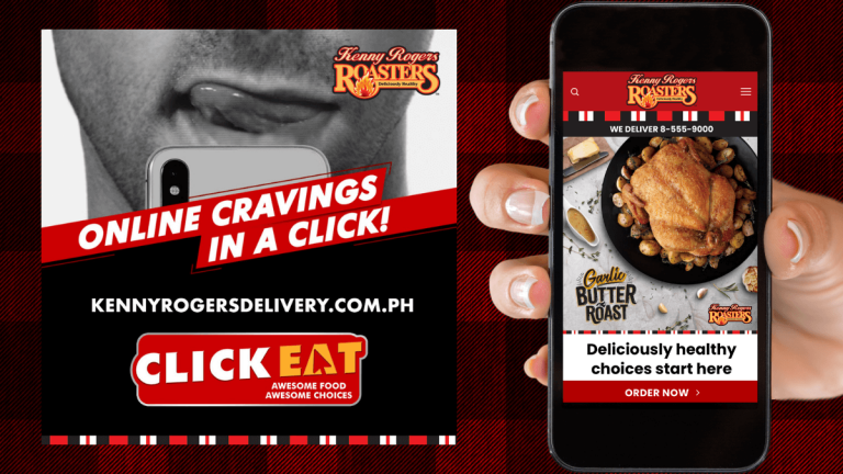 Kenny Rogers Delivery Website Launch