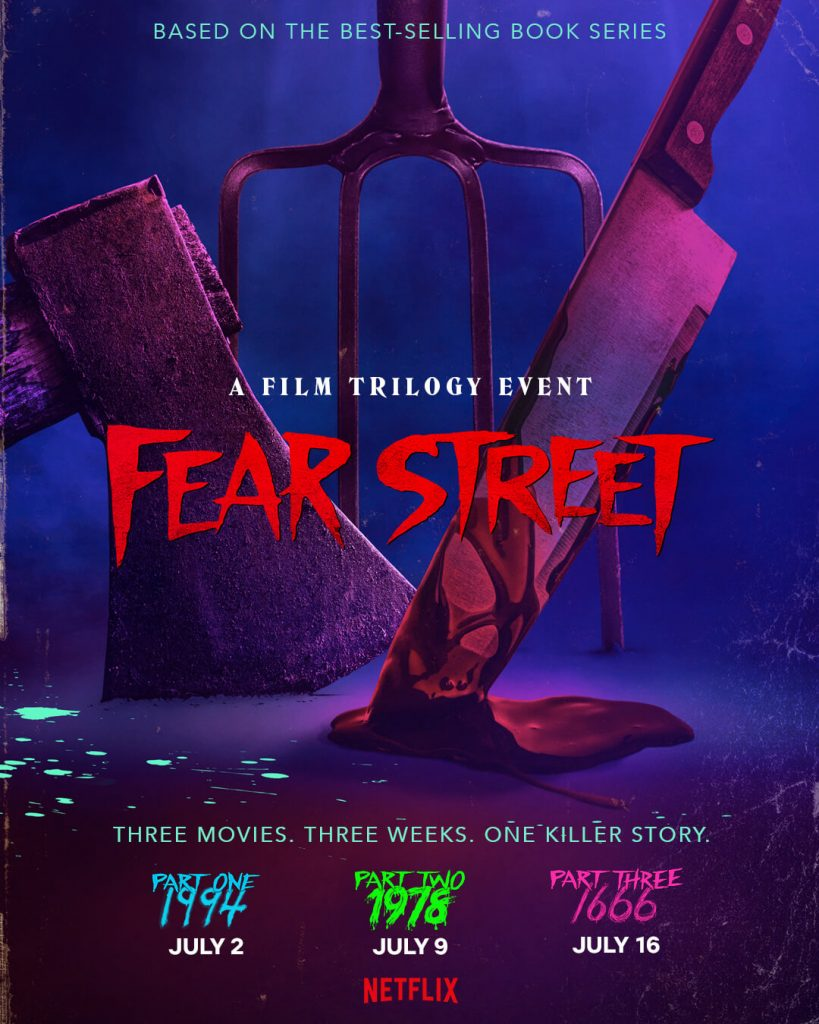 R.L. Stine films for Fear Street coming to Netflix
