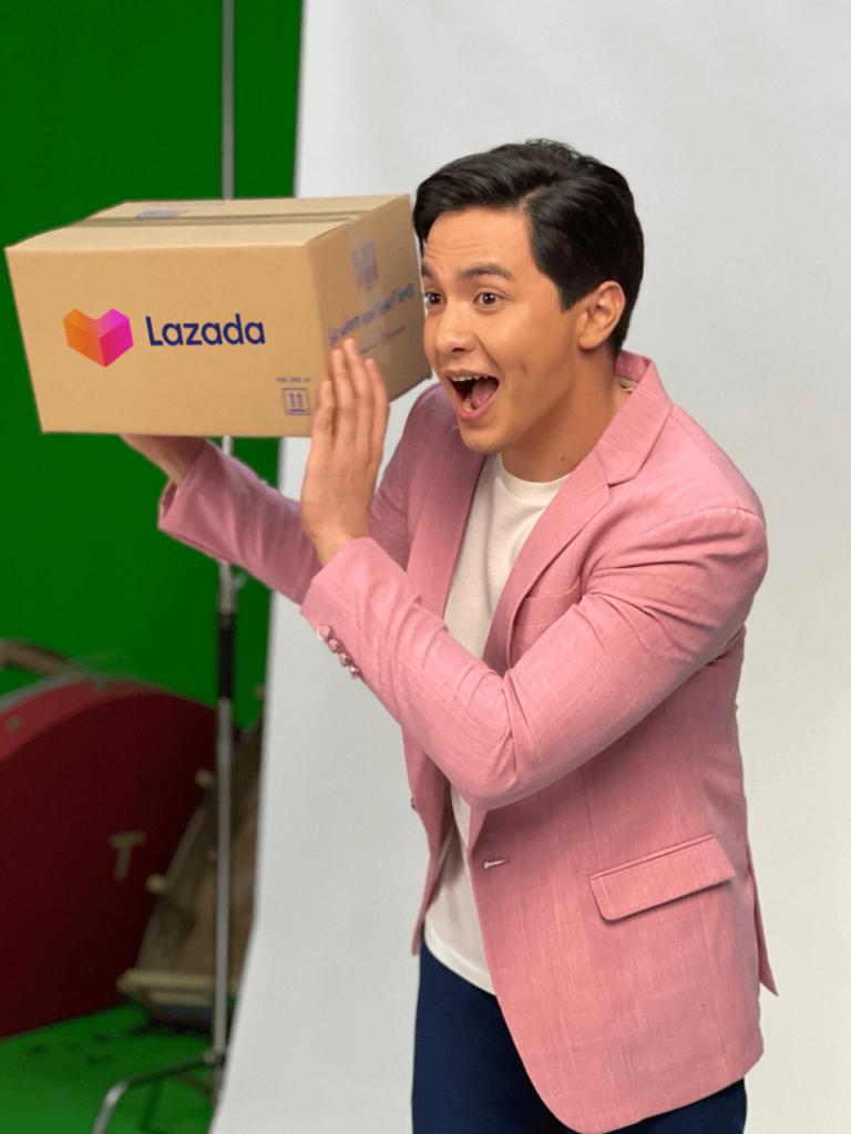 Behind the scenes with new Lazada PH Brand Ambassador Alden Richards