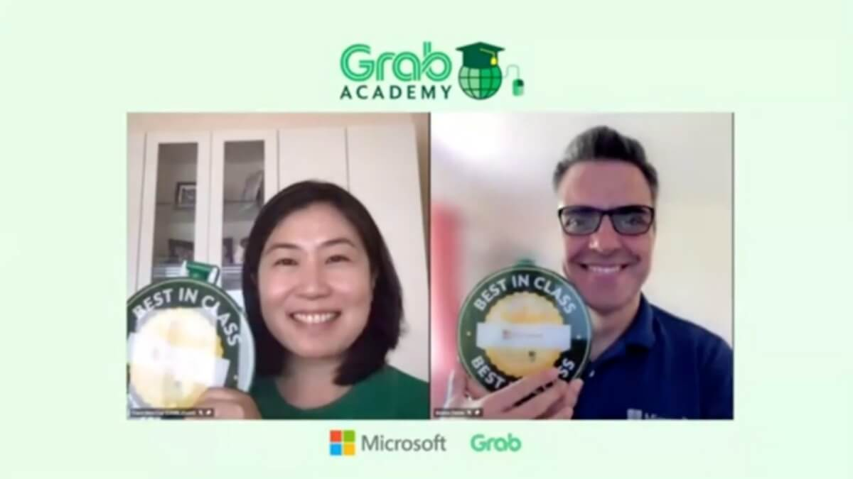 Read more about the article Grab Partners with Microsoft for their Partners' Online Learning Platform 'GrabAcademy'