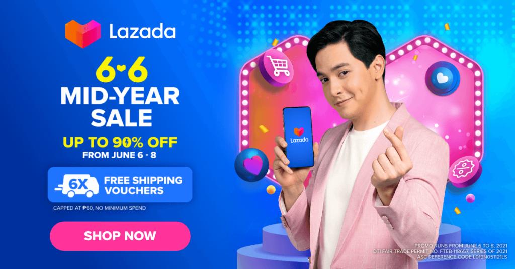 Lazada Mid-Year Sale 6.6