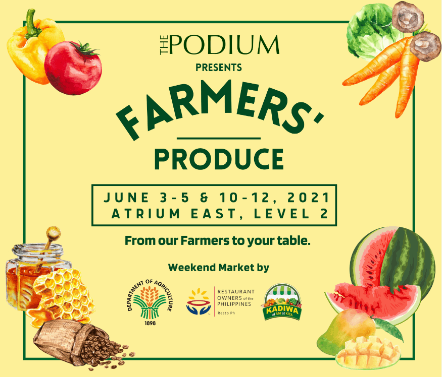 SM Supermalls brings back Farmers' Produce from June 3rd to July 25th
