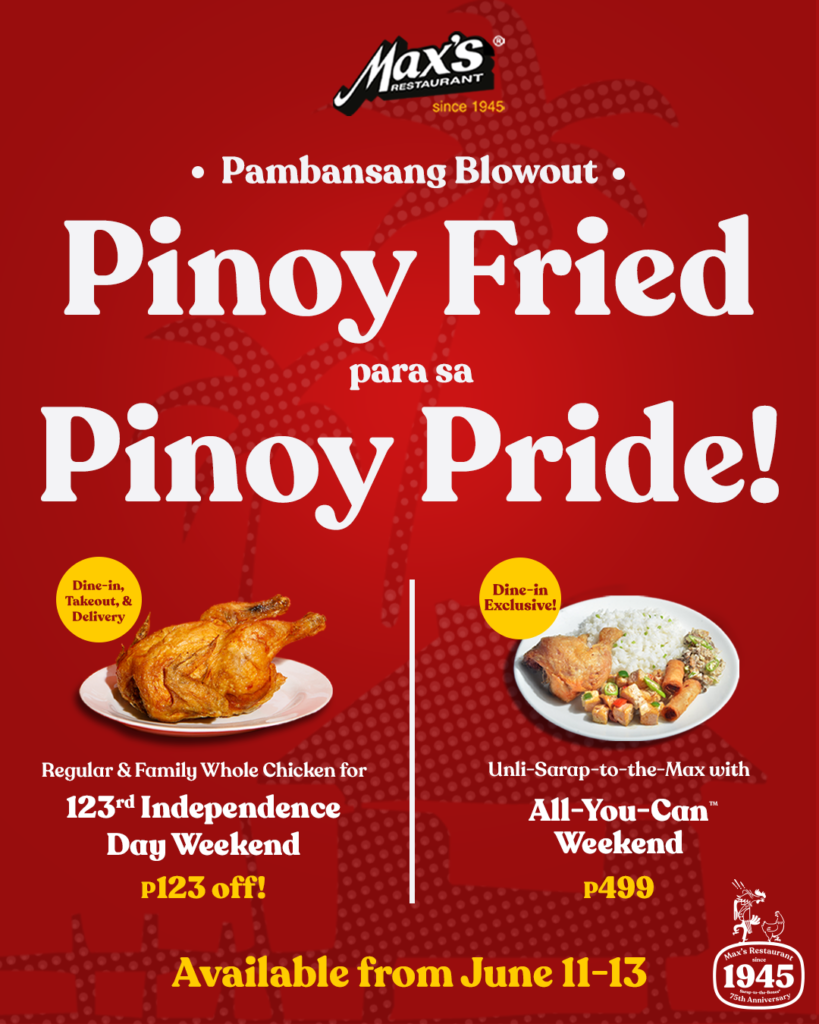 Max's Restaurant Pinoy Fried Blow Out