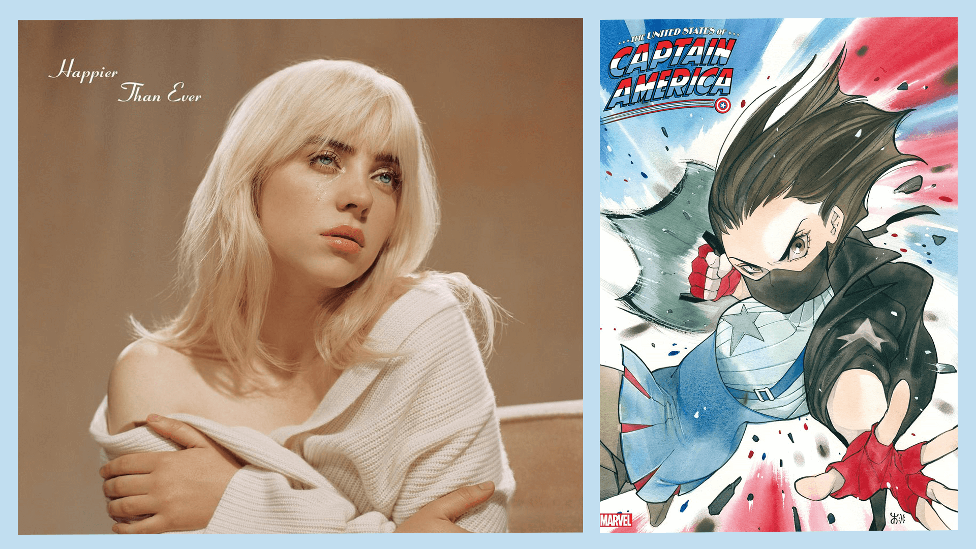 Trending News Roundup: Marvel Comics' Ari Agbayani, IU and Park Seo Joon's 'Dream,' Billie Eilish's 'Lost Cause'
