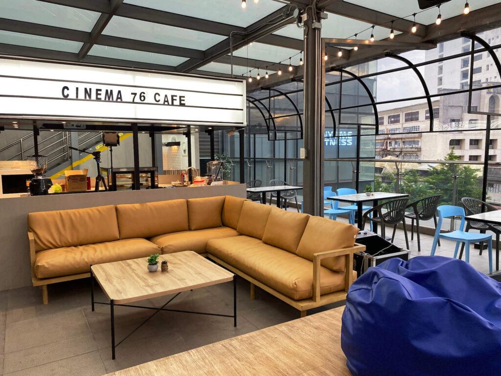 Cinema 76 Cafe - exterior