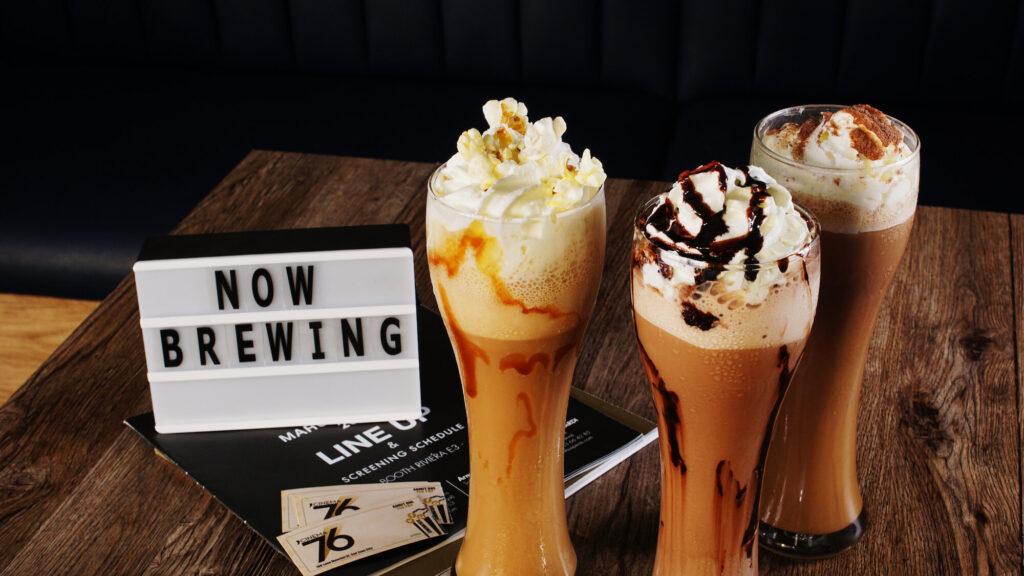 Cinema 76 Cafe drinks