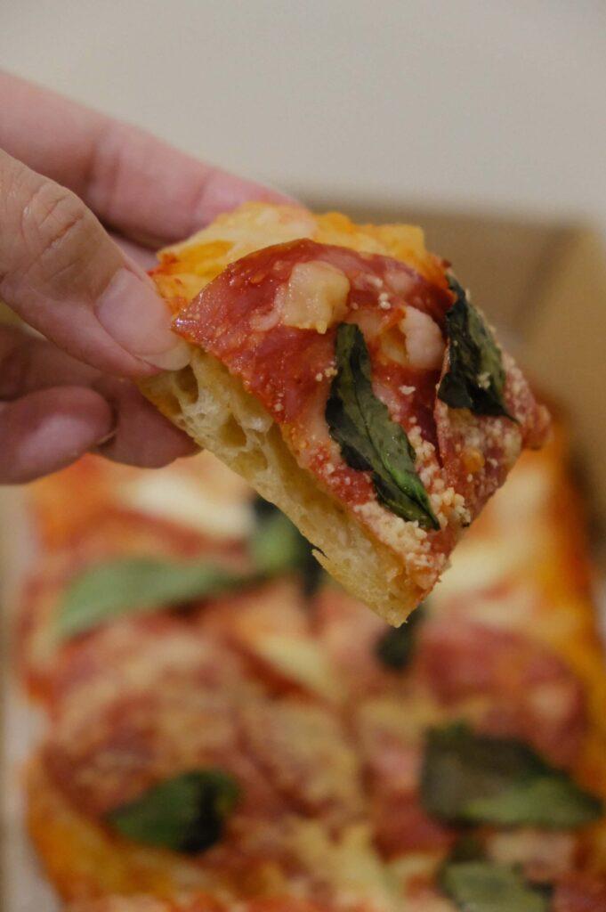 Tyler's Cafe Salami Pizza