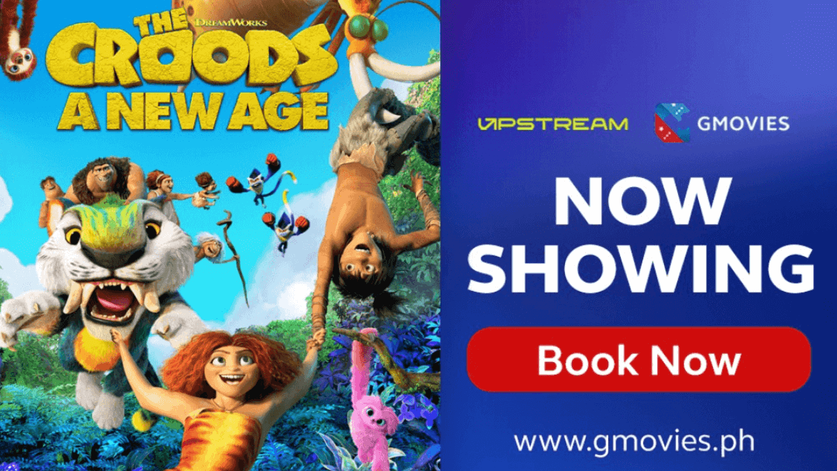 Catch 'The Croods: A New Age' on UPSTREAM