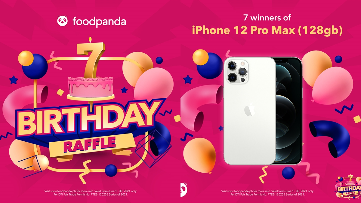 foodpanda is Giving You a Chance to Win Amazing Prizes for the #foodpandaBdayBlowout