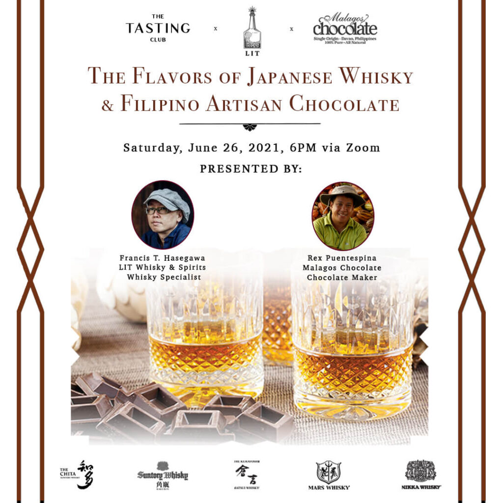 Collateral #2 - The Tasting Club - Japanese Whisky and Filipino Chocolate