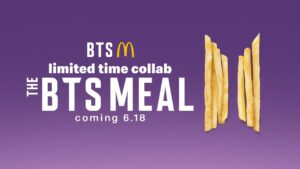 BTS McDo Crew Challenge