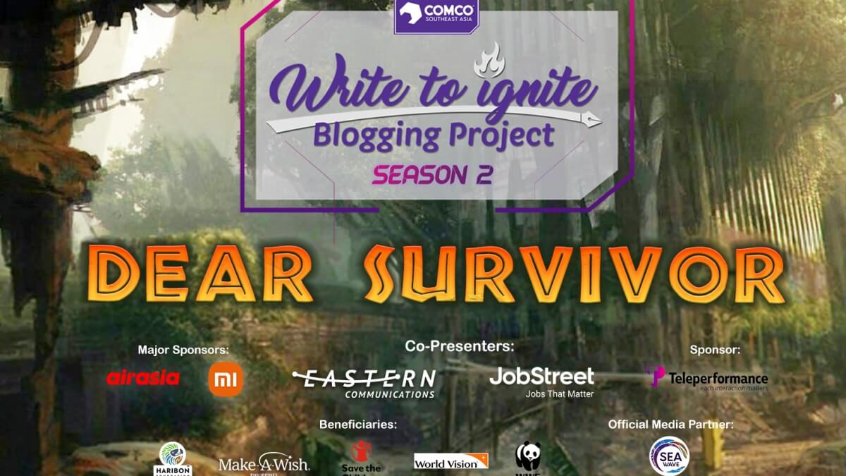 The 'Write To Ignite Blogging Project' is Back for Season 2!