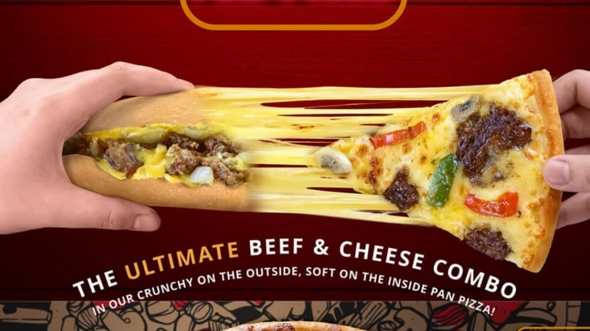 Read more about the article Pizza Hut's Iconic Beef & Cheese Combo Sandwich is Now a Pan Pizza!