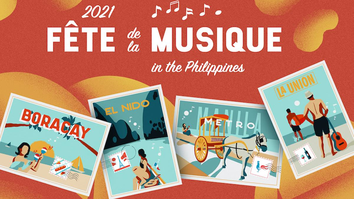 Fête de la Musique PH 2021 is happening from June 18 to 21