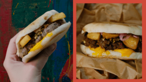Chori Chori Now Open - Chorizo Sandwiches