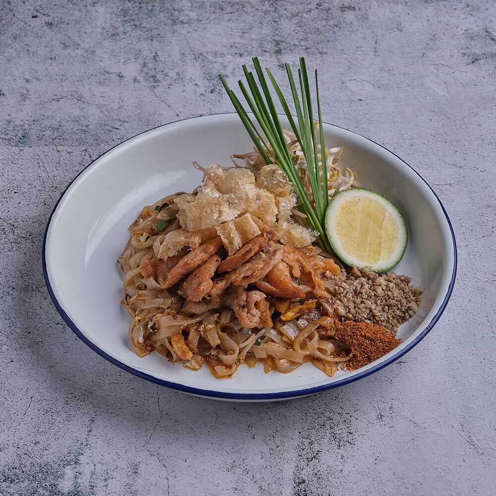 PAD THAI MOO or Pork Pad Thai by The Pad