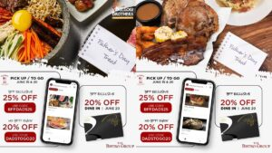 The Bistro Group Father's Day Promo