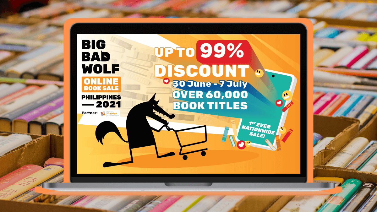 Big Bad Wolf Book Sale 2021 Goes Online: Everything You Need to Know