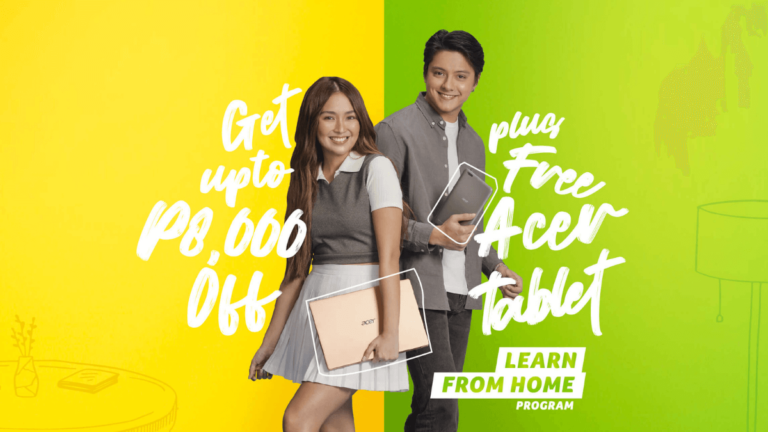 Acer with KathNiel Campaign