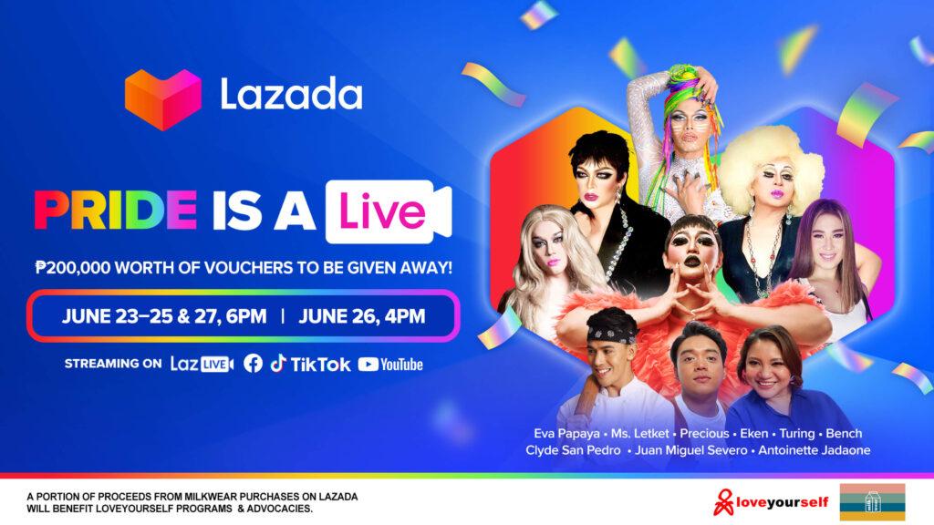 Lazada pride Month campaign