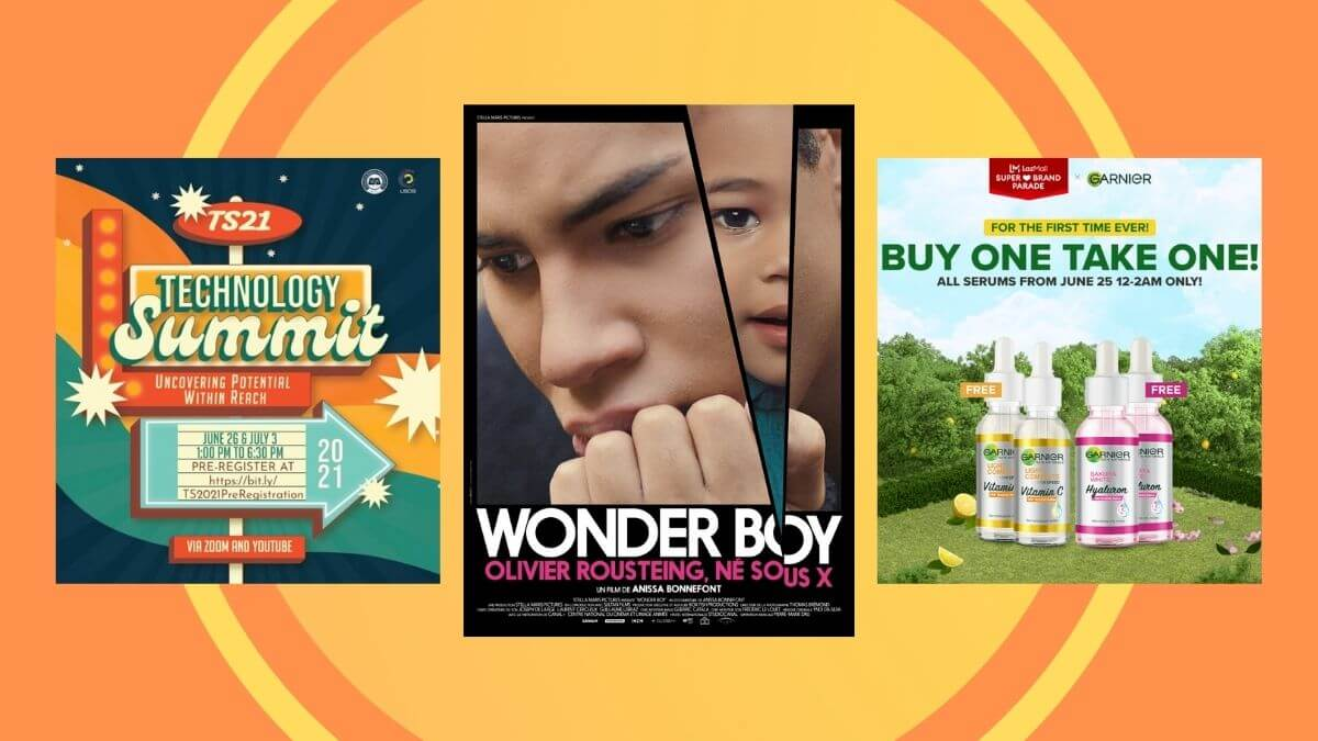 Read more about the article Weekender Guide: What's Happening From June 25 to 27, 2021