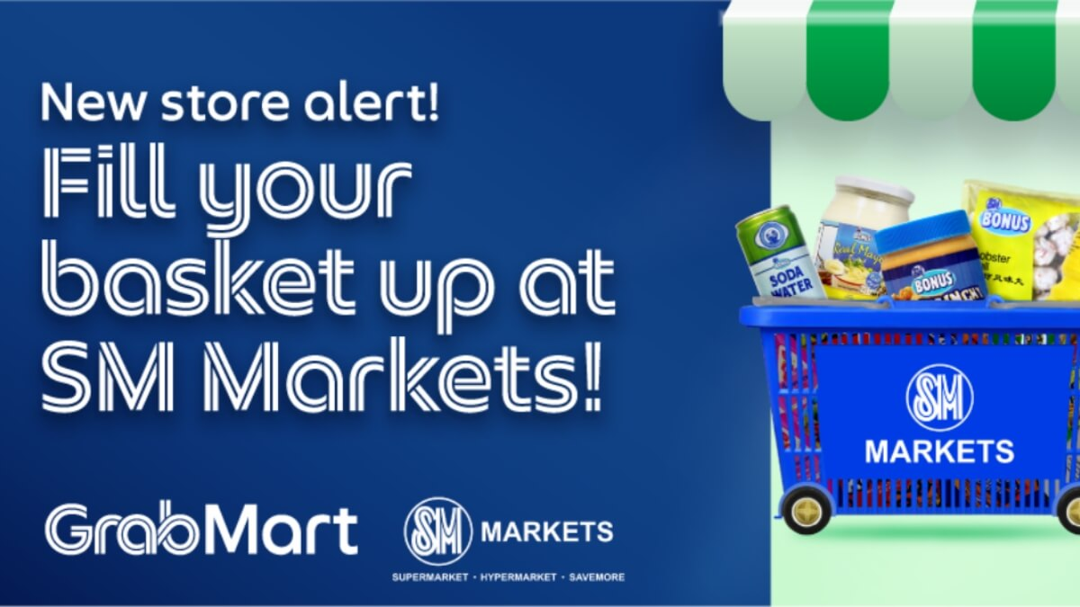 Read more about the article GrabMart Partners with SM Markets for Reliable & Convenient Online Grocery Shopping for Filipinos
