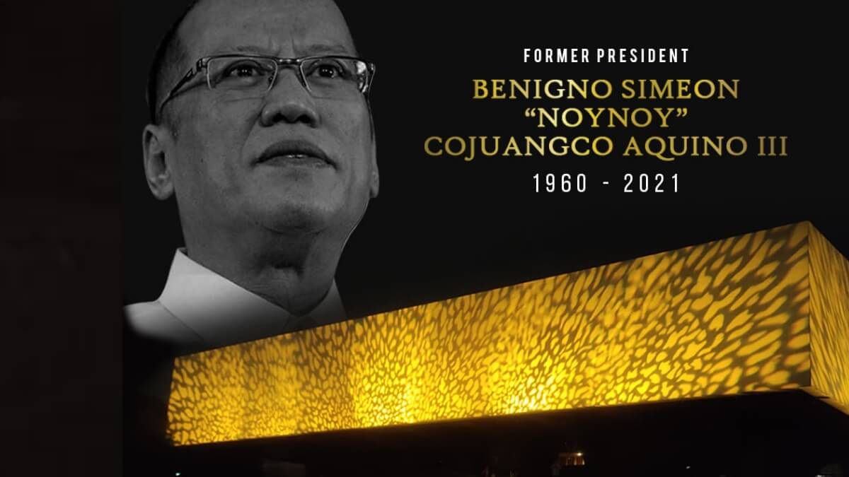 Read more about the article The CCP Facade Lights Up in Yellow for PNoy