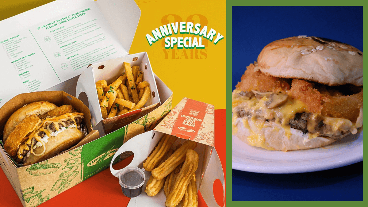 Read more about the article Brothers Burger Celebrates 22nd Anniversary with a Funky Four Cheese Burger Meal