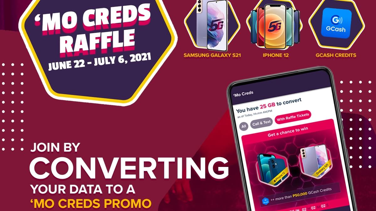 Read more about the article Get a Chance to Win an iPhone 12 or Samsung S21 with GOMO's 'Mo Creds Raffle!