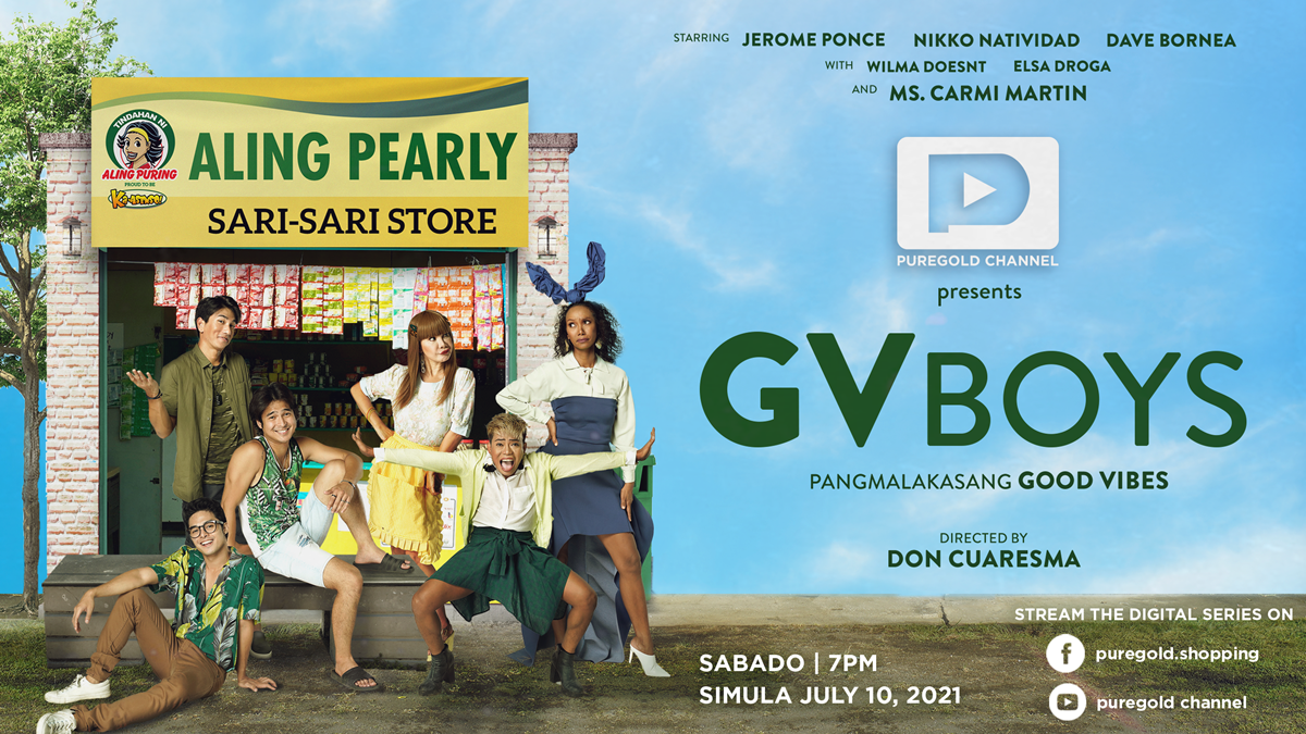 Read more about the article 'GVBOYS: Pangmalakasang Good Vibes' is the First  Digital Series Coming To Puregold's YouTube Channel