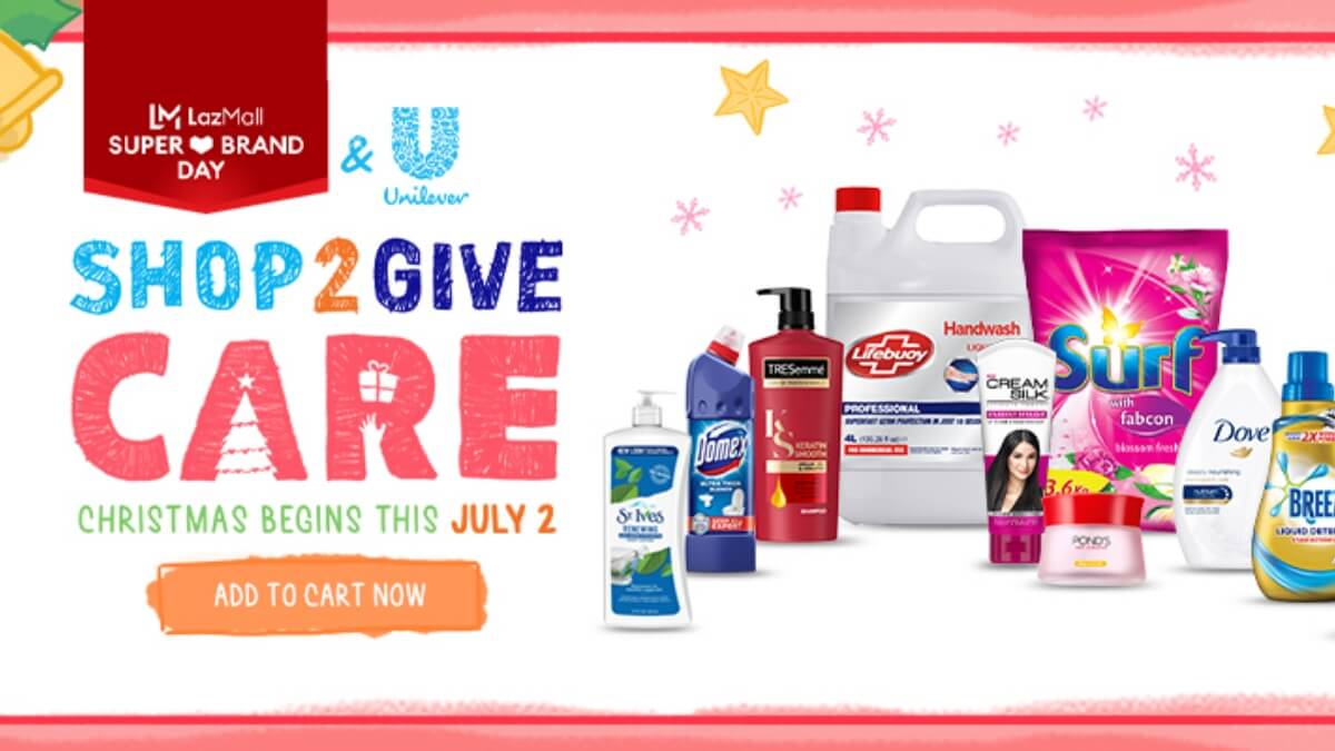 Read more about the article Christmas Comes Early with Unilever & Lazada's Shop2Give Super Brand Day Sale