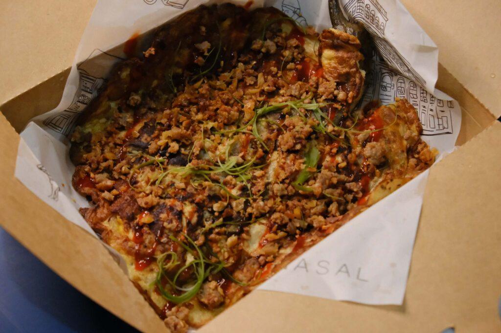 Tortang Chorizo Pudpud (P295) - manila inasal